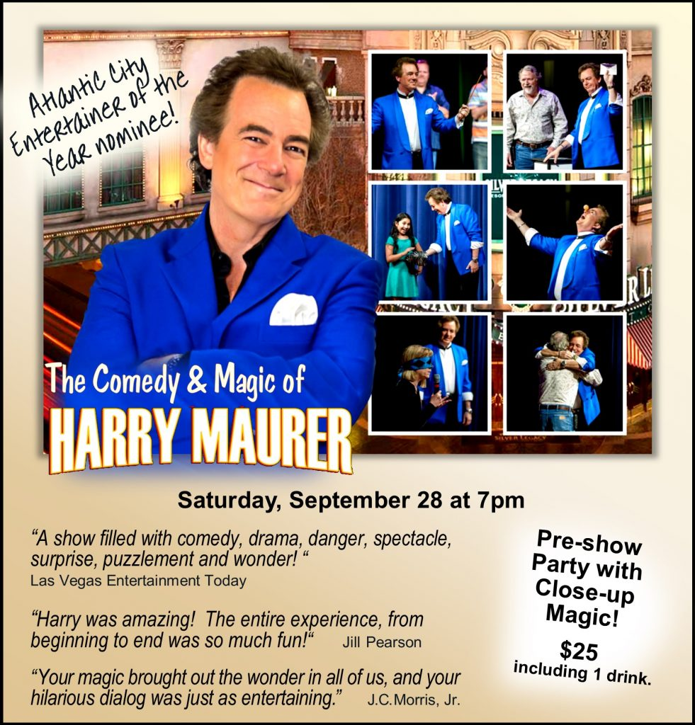 """""""Harry was amazing! The entire experience, from beginning to end was so much fun!"""" -Jill Pearson """"Your magic brought out the wonder in all of us, and your hilarious dialog was just as entertaining."""" -J.C. Morris, Jr."""